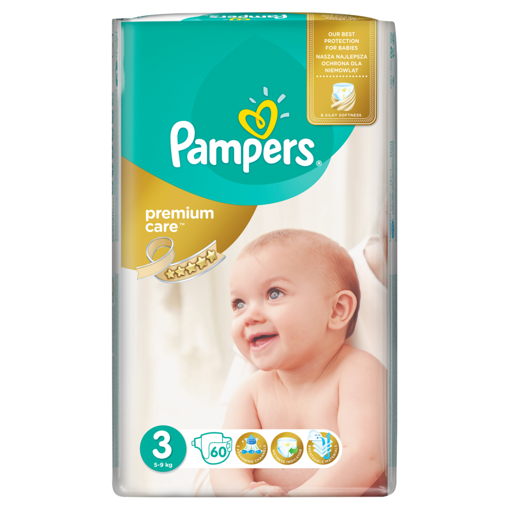 paidikes_panes_Pampers Premium Care Midi No3 5-9kg 60τμχ _ znzmedical.gr