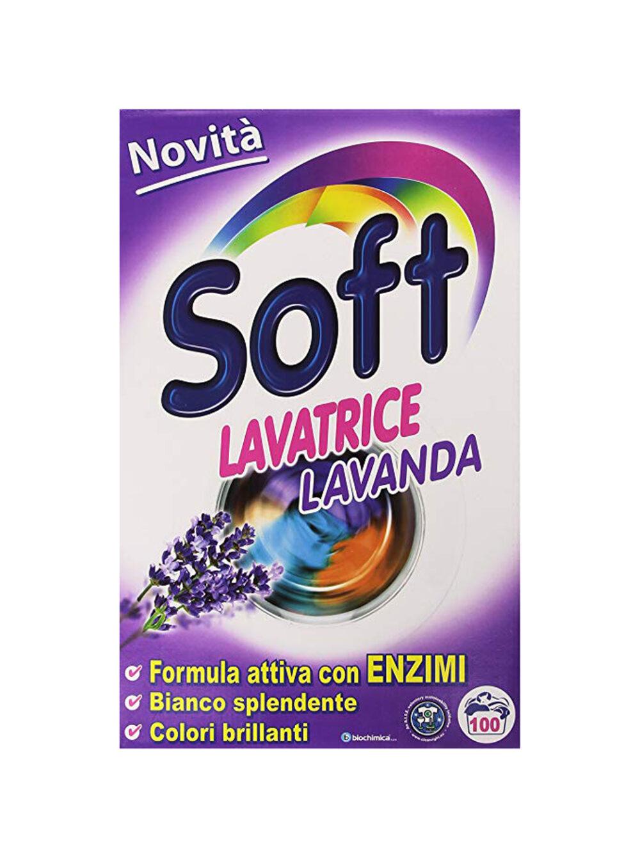 Soft Σκόνη Πλυντηρίου Λεβάντα 100Μεζούρες
